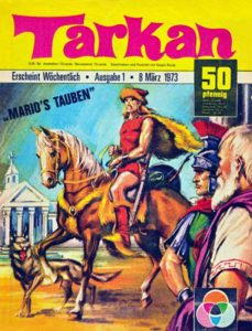 The first German issue of Tarkan, published in 1973