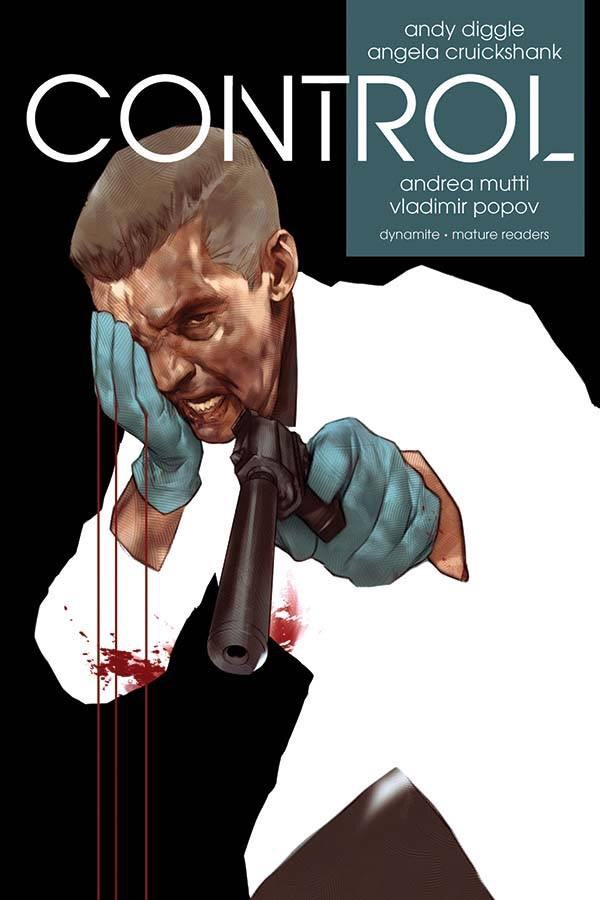 Control - Graphic Novel Cover