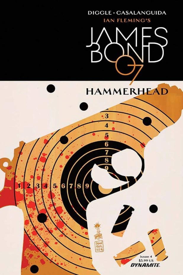 James Bond - Hammerhead #4 - Cover