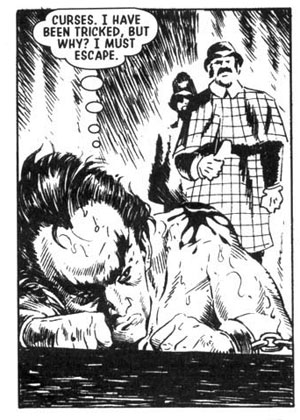 Janus Stark as he appeared in a two page 'flashback' by Shane Oakley in Albion #1