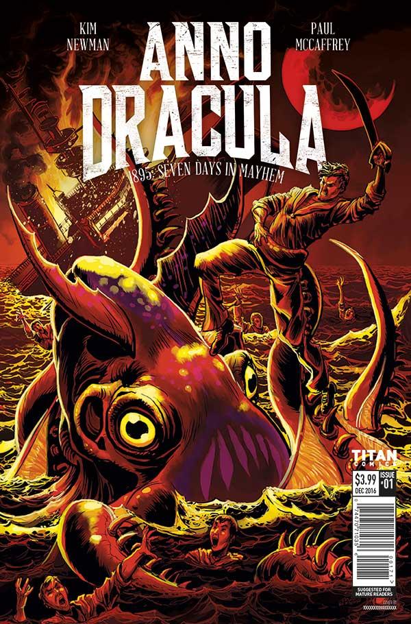 Kim Newman's Anno Dracula Issue #1 Cover D - Jeff Zornow