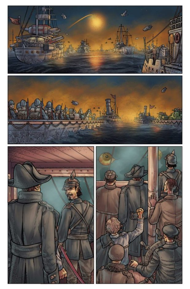 Kim Newman's Anno Dracula Issue #1 Preview 1