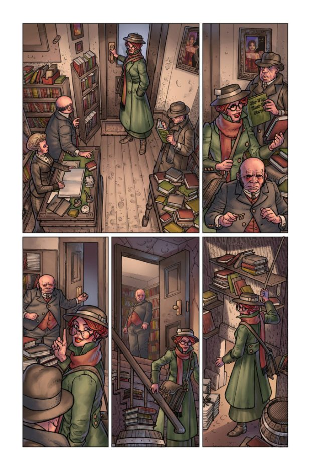 Kim Newman's Anno Dracula Issue #1 Preview 5