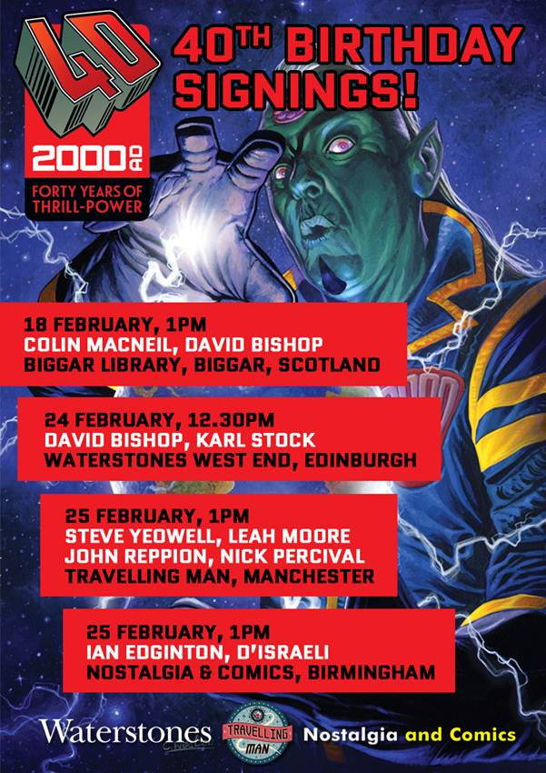 Beyond 2000AD - February 2017 Signings