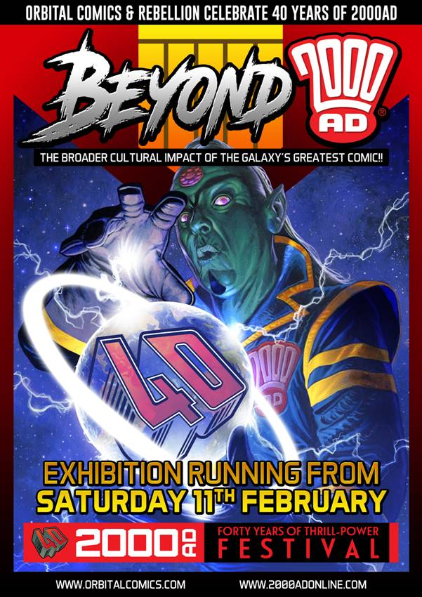 Beyond 2000AD Exhibition - Orbital Comics