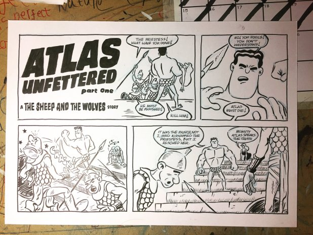 Atlas Unfettered by Nick Prolix