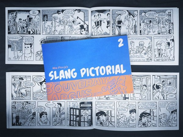 Slang Pictorial Issue Two - Cover