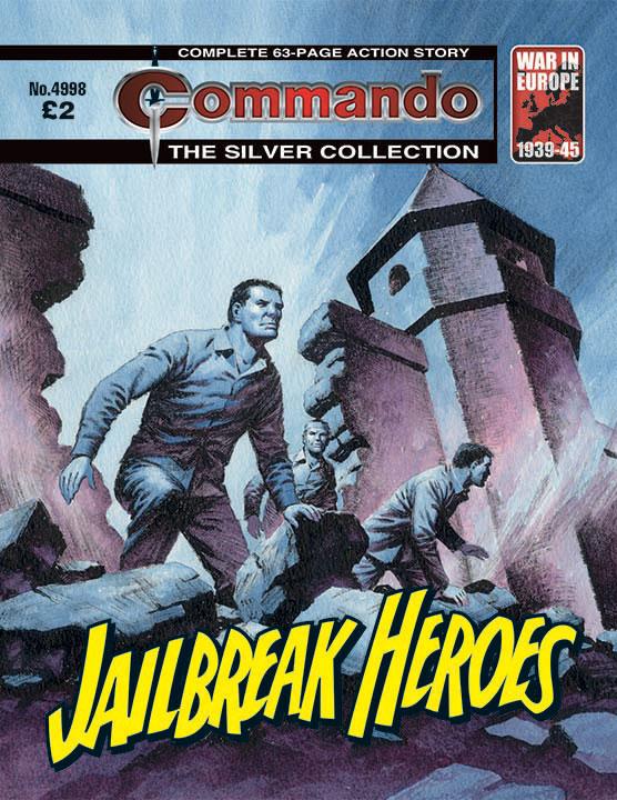 Commando 4998 – Jailbreak Heroes