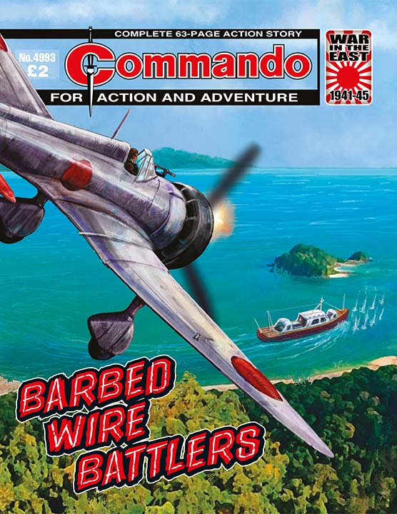 Commando 4993 – Barbed Wire Battlers