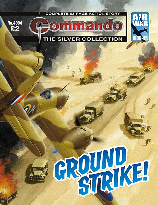 Commando 4994 – Ground Strike!