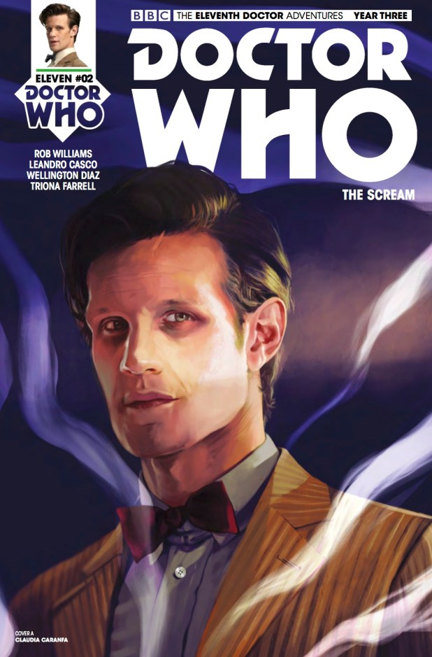 Doctor Who: The Eleventh Doctor Year 3 #2 - Cover A