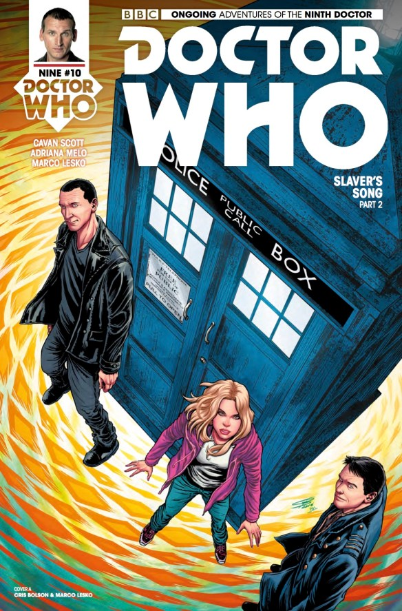 Doctor Who: The Ninth Doctor#10 - Cover A