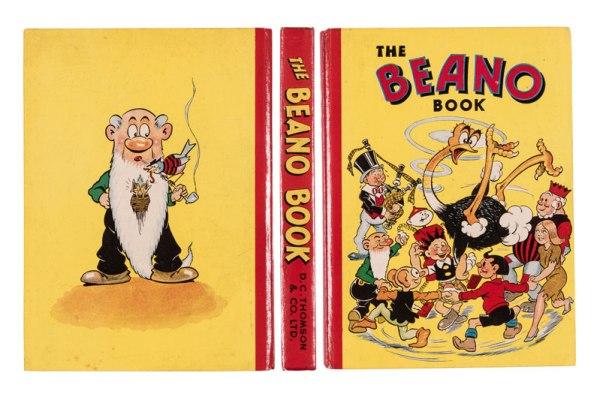 Beano Book 3 (1942): Big Eggo in a spin! From the Brenda Butler archive