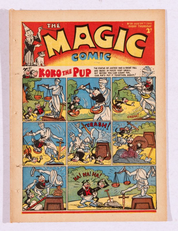 Magic Comic 58