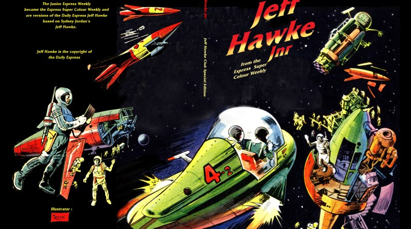 Jeff Hawke Jnr. - Cover