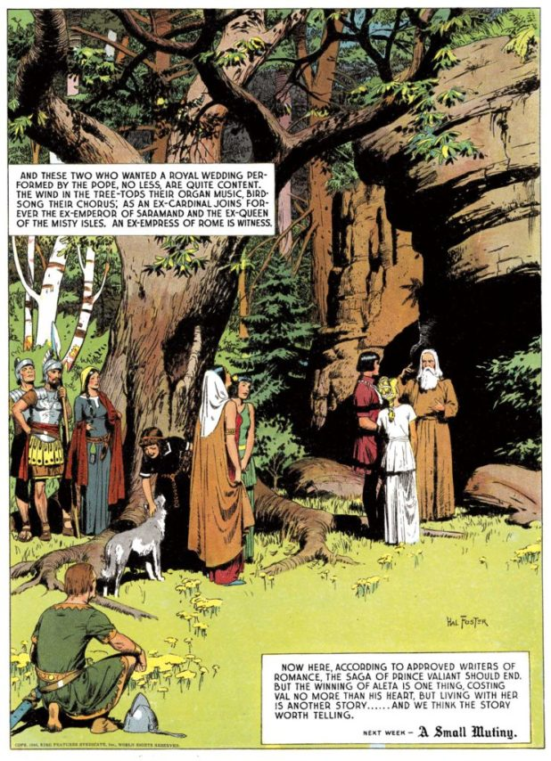 Prince Valiant, 10th February 1946