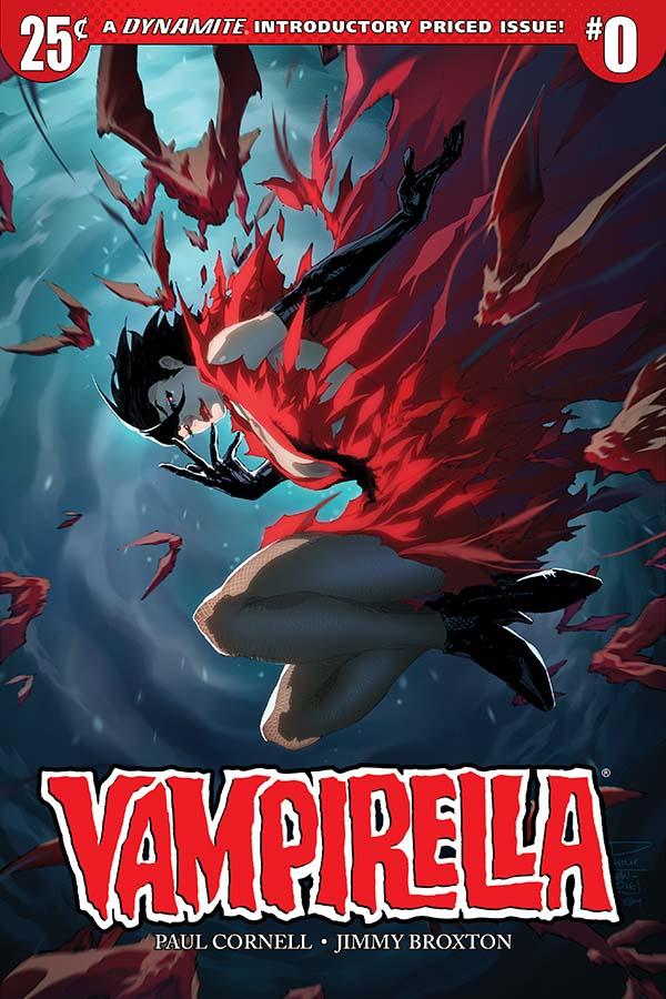 Vampirella #0 Cover