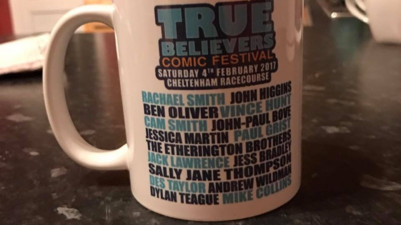 From The Trenches: A Guest's Eye View of True Believers Comic Festival 2017 by Jessica Martin
