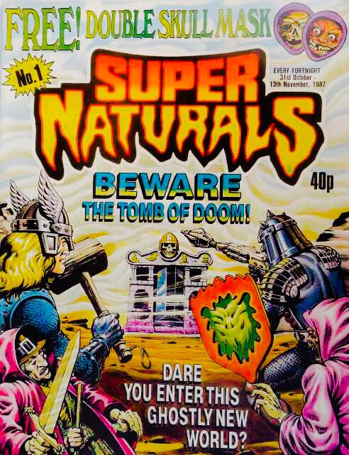 Super Naturals Preview Issue One