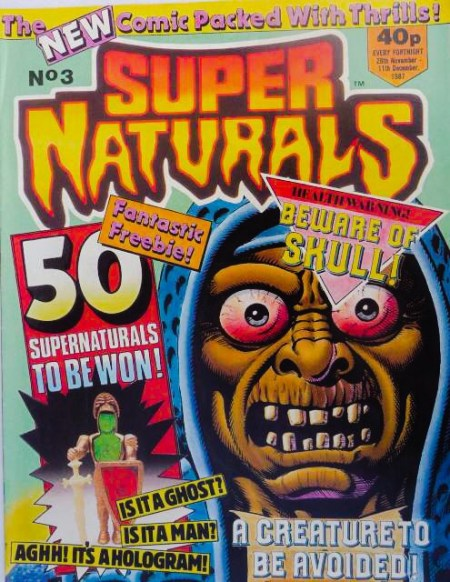 Super Naturals Issue Three - Cover