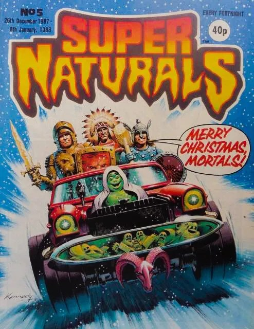 Super Naturals Issue Five - Cover