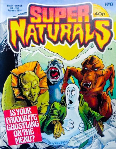 Super Naturals Issue Eight - Cover