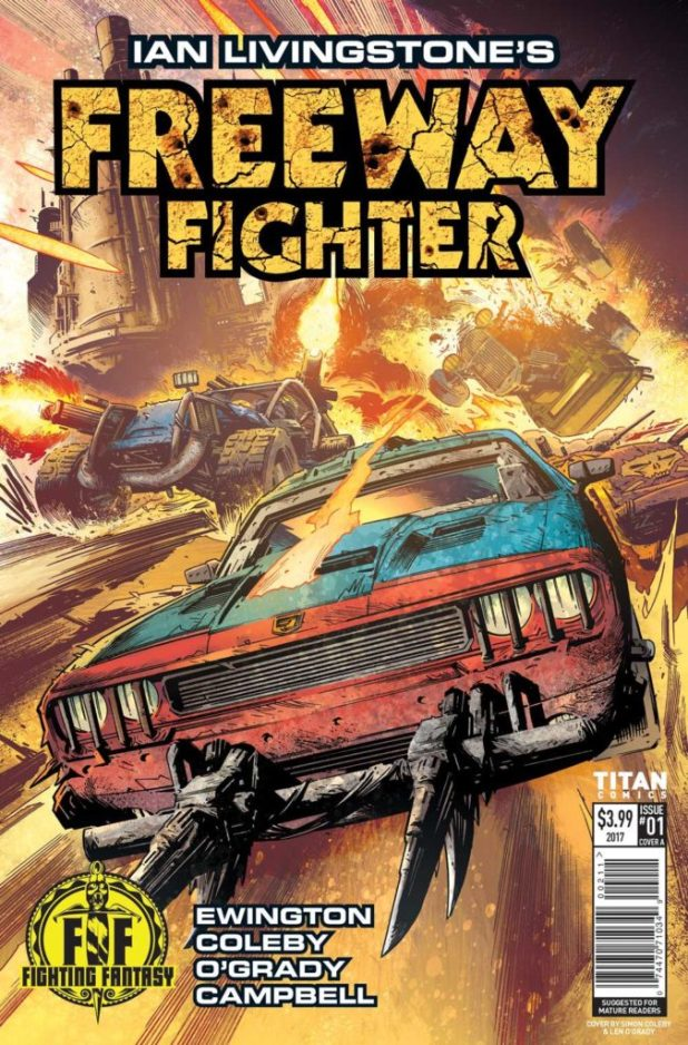 Freeway Fighter #1 - Cover A