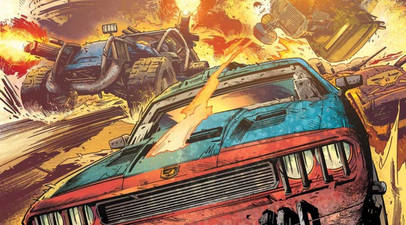 Freeway Fighter #1 - Cover A: Simon Coleby & Len O'Grady