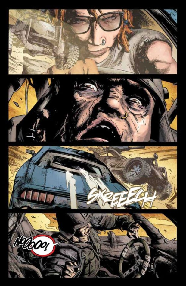 Freeway Fighter #1 - Preview 4