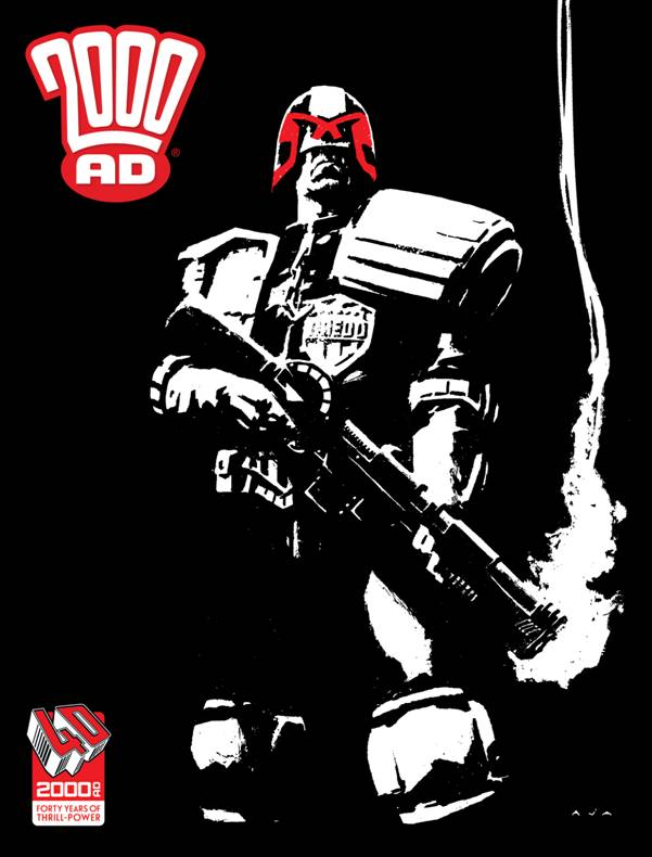 2000AD 40th Anniversary Special - David Aja Cover Reprint