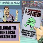 Tony Esmond's Comic Shop Survival Guide - Part One. Art by David Broughton
