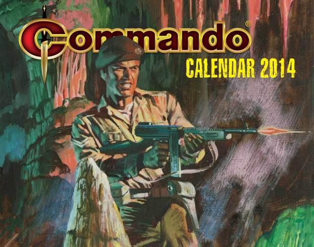Commando Calendar 2014