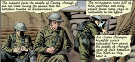 "Battle of the Somme Re-Visited in ""For Valour"", a new comic by Stephen Mooney and Eoin Coveney"