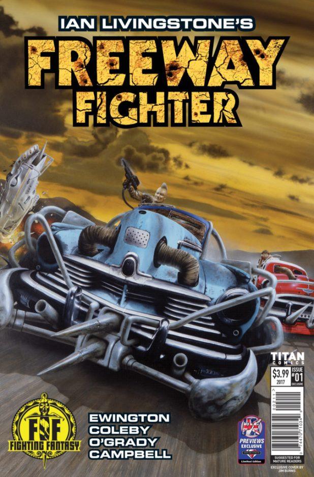 Freeway Fighter #1 - Diamond Variant