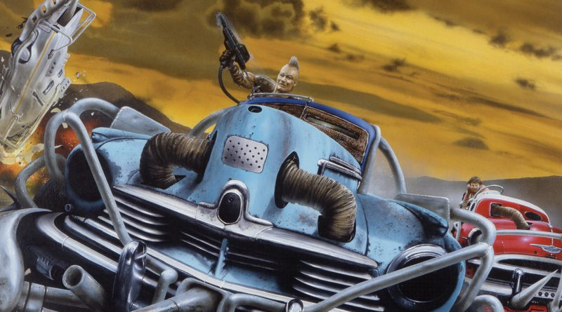 Freeway Fighter #1 - Diamond Variant by Jim Burns