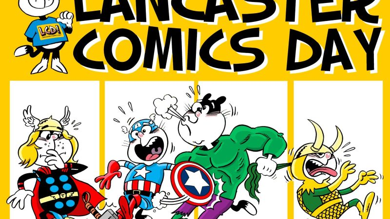 In Review and In Pictures: Lancaster Comics Day 2017