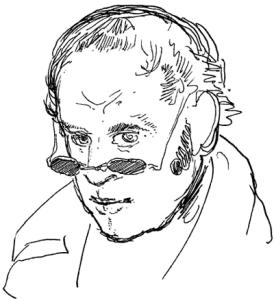 Rodolphe Töpffer - Self Portrait
