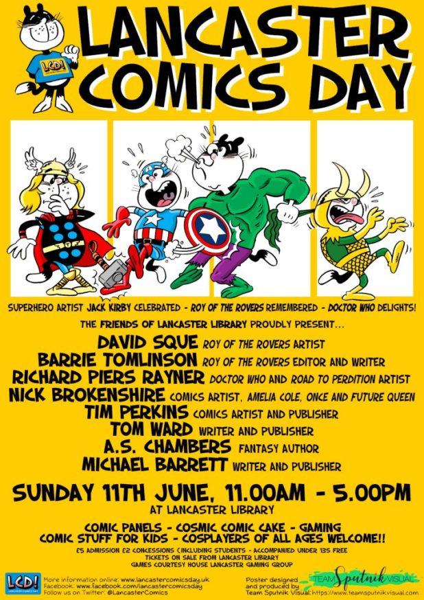 Lancaster Comics Day 2017