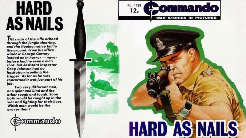 In Praise Of: Commando artists Ian Kennedy and Carlos Pino