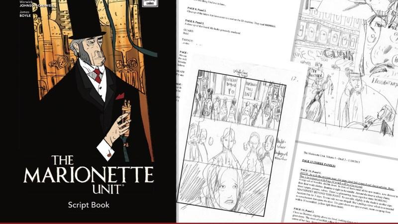 """Marionette Unit"" Script Book Released"