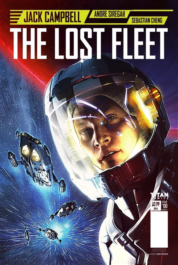 Lost Fleet: Corsair #1 Cover A by Alex Ronald