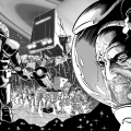 """""""Geysers of Titan"""", a strip drawn by Doctor Who Adventures artist Russ Leach, written by Petri Hanninem, lettered by Sam Roads"""