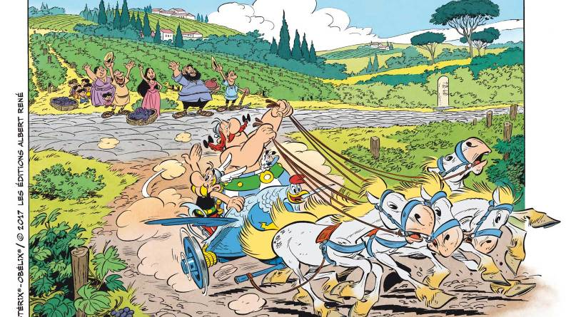 Asterix and the Race through Italy - Chariot Chase