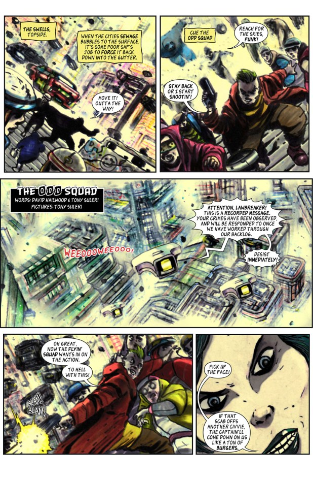 100% Biodegradable Issue 16 - The Odd Squad