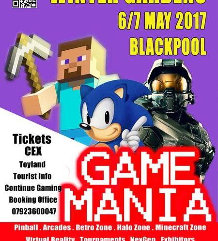 Game Mania returns to Blackpool in May (with some added comics goodness)