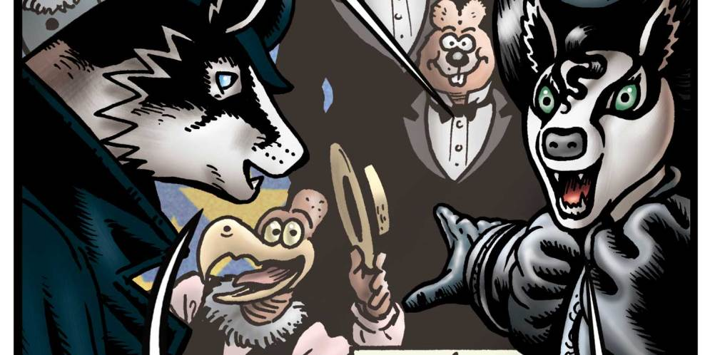 Bryan Talbot payes tribute to Leo Baxendale in final Grandville tale