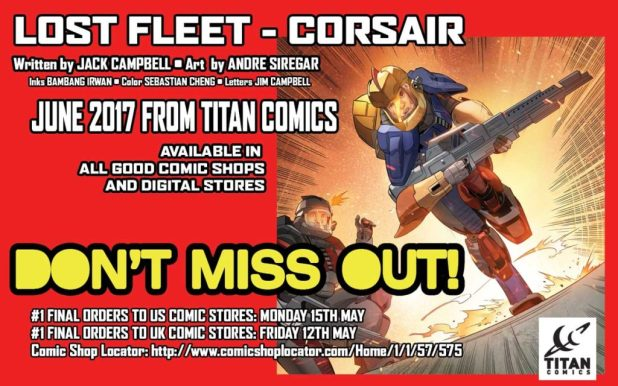 Lost Fleet Corsair #1 - DON'T MISS OUT