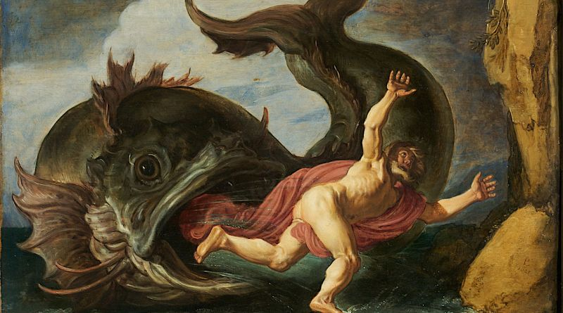 Jonah and the Whale by Pieter Lastman