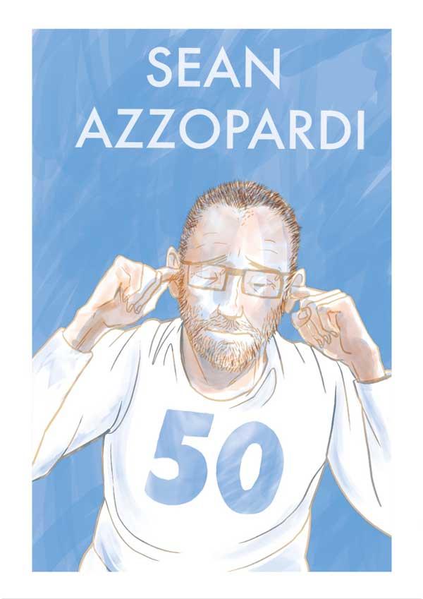 Sean Azzopardi - 50 - Cover