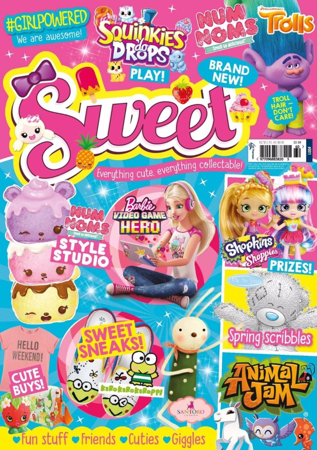Sweet Issue One - Cover